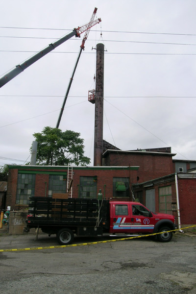 Boston Chimney Restoration Boston Tower Construction